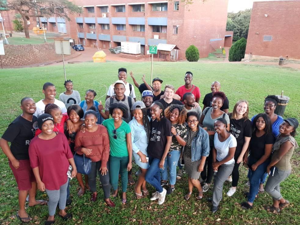2018 mission in University of Venda